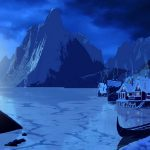 Graphics rock mountains snow winter drawing graphics mountains rock snow winter figure
