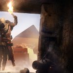 Torch, egypt, crypt, assassin's creed