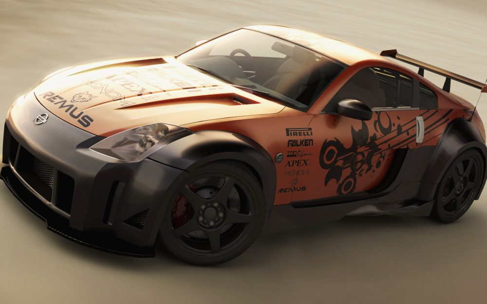 Nissan, tuned, 350z