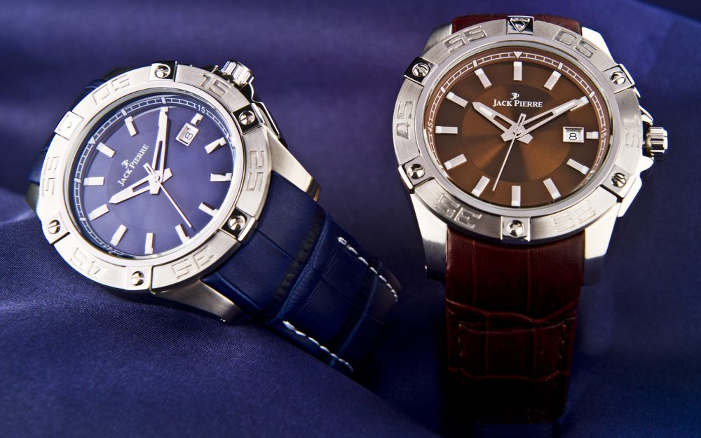 Two, watch, design, leather jack, pierre