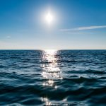 Sea, horizon, sunlight hd wallpaper