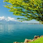 Small fresh lake natural beauty hd wallpaper