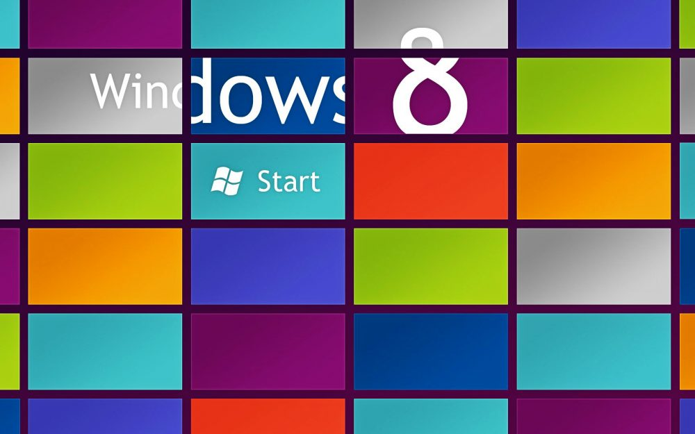 Logo, the operating system, 8, color, windows