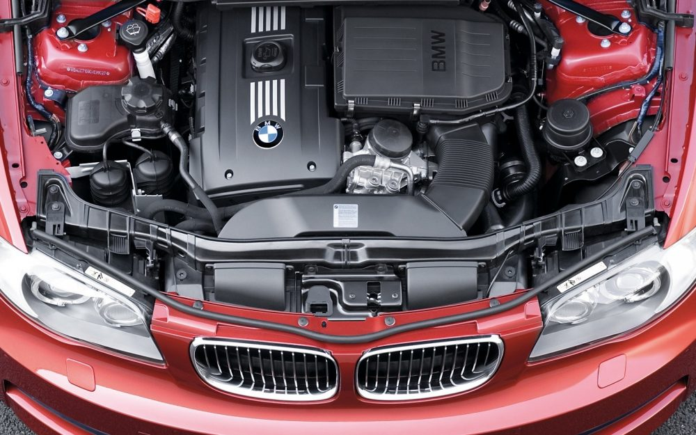 Bmw 135i coupe engine