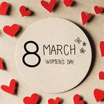 March 8 women's day love wallpaper