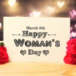 Rose march 8 women's day wallpaper