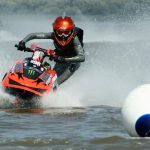 Suit, sea, extreme, water motorcycle, buoy