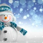 Merry christmas snowman wallpapers