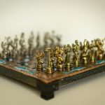 Figures chess board