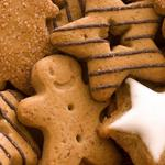 Star-shaped biscuits wallpaper