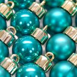 Glitter, balls, christmas decorations, new year, mirror, reflection, celebration