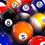 Number, billiards, ball