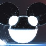 Eyes, smile, dedmaus, sparks, deadmau5, music, background
