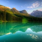 Canadian lake landscape nature wallpapers
