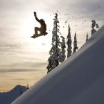Descent, jump, snowboard