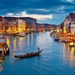 Venice beautiful night scene wallpaper hd