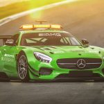 Green mercedes-benz, amg, gt, safety car, the mercedes-benz racing wallpaper