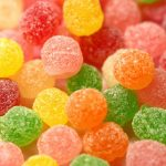 Colored candy wallpaper