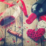 Love, heart, wine, heart, valentines day