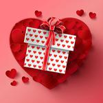 Valentines day, gift, heart, heart