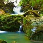 Stream waterfall natural beauty hd wallpaper download