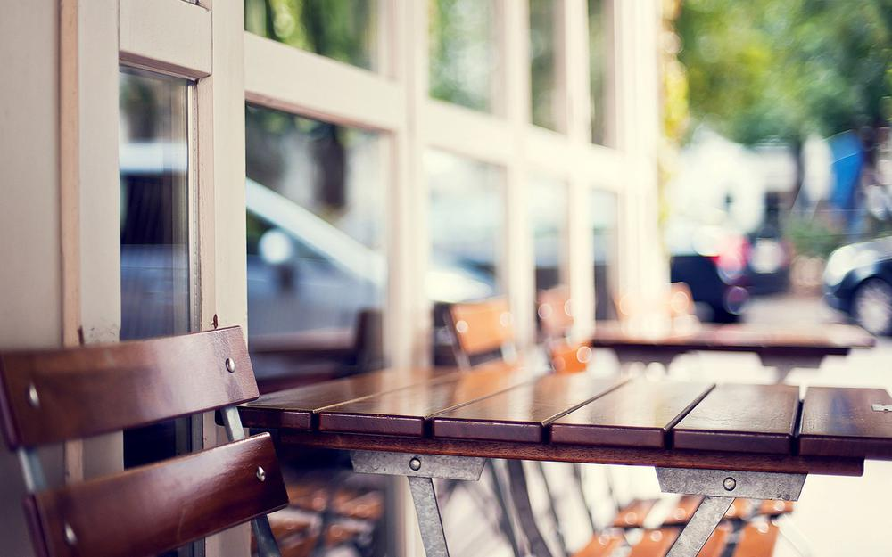 Hd wallpaper beautiful cafe tables and chairs