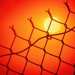 Sunset, zone, the sun, the wire