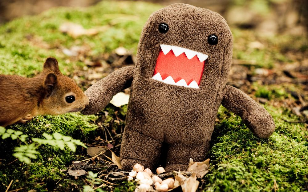 Domokun, domakan, squirrel, forest, domokun, toy