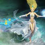 Storm goddess – jianuo wallpaper