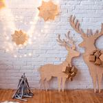 Vintage, merry christmas, decoration, xmas, christmas, garland, ornaments, gifts, happy, christmas, wood, snow