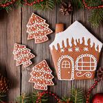 Gingerbread, decoration, christmas, merry, christmas, cookies, xmas