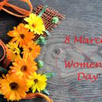 Gerbera, march 8, heart, women's day, flowers
