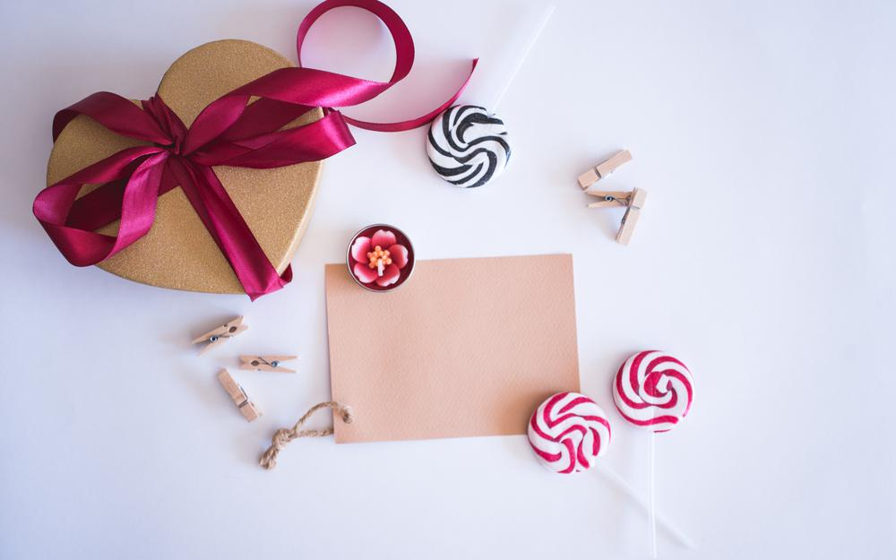 Heart, gifts, gift, valentine's day, candy