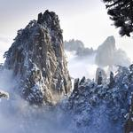 After the winter snow huangshan hd wallpaper