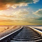 Distance rail wallpaper