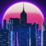 Luna, by synthex, synthex, synth, retrowave, neon, style, music, 80s, retroveyv, sintveyv night, synthwave, city, outrun, new retro wave, futuresynth