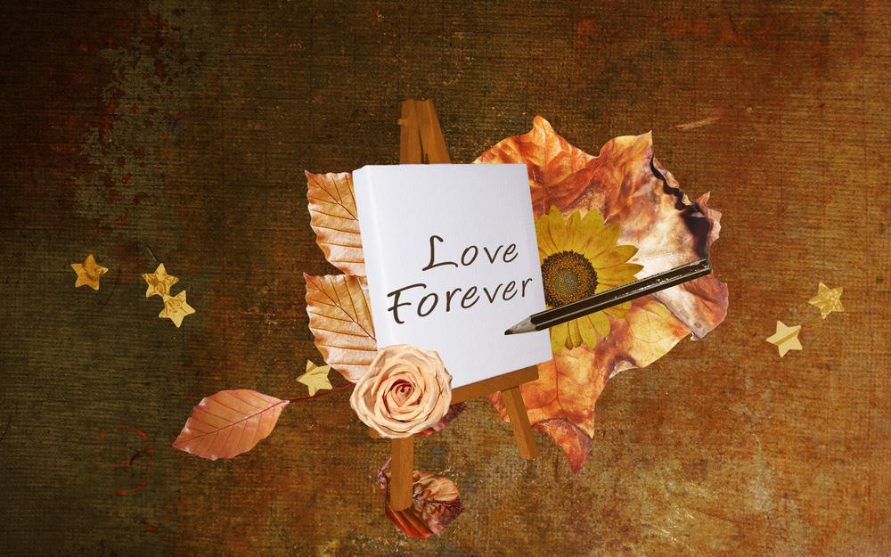 Eternal love hd wallpaper