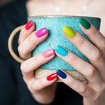 Nail color cup beautiful hd wallpaper