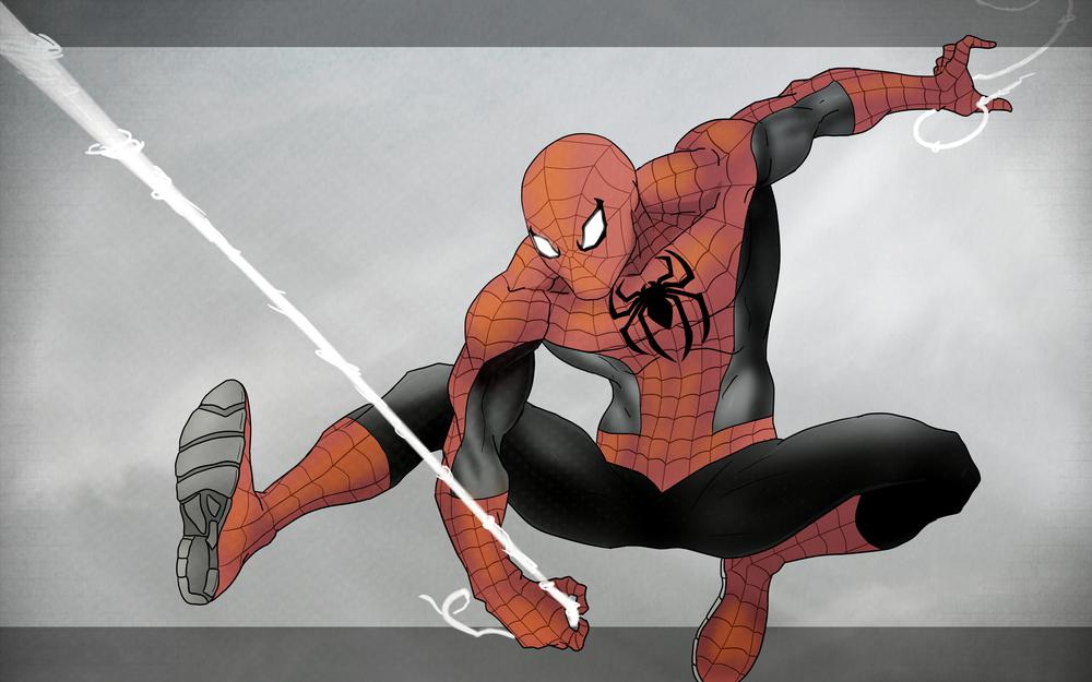 Suit, marvel comics, superhero, peter parker
