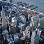 San francisco, city, top view hd wallpaper