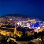 Home, boats, port, night, monaco desktop wallpaper
