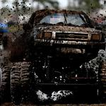 Power, force, dirt, competition, beauty, tires, toyota