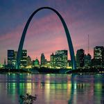 Usa, saint louis, bridge, building, gateway arch, arch