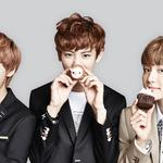 Exo, pu canlie, while peter yin, lu han, small cakes, uniforms, exo desktop wallpaper