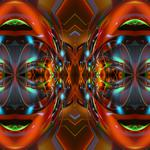 Abstract, face, pattern, color,