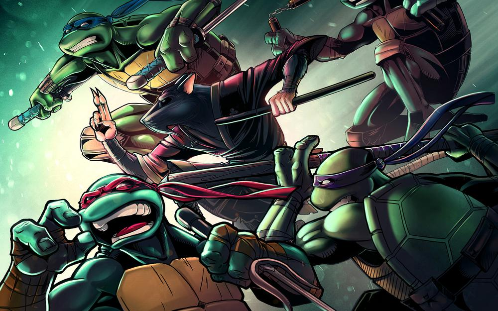 Raphael, splinter, michelangelo, teenage mutant ninja turtles, tmnt