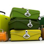 Travel, luggage, suitcase, bag, color