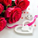Flowers, roses, petals, love, valentine's day, wallpaper