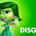 Disgust, pixar, inside, out