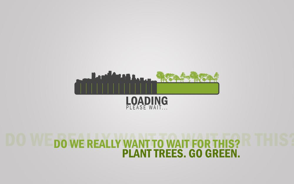 Wait, please wait, the end of plants, loading, urbanization